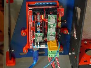 P3Steel Arduino + RAMPS slide-in holder