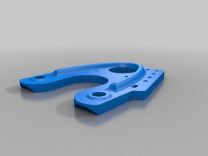 Remix of Solderless Stepper Mount for Mostly Printed CNC with M3