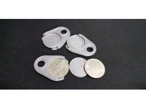 Shopping Cart Coin - Keychain (100WON) 한국 100원