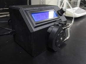 Volumetric peristaltic pump