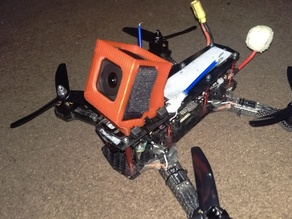 GoPro Session mount/protector for mini quad  30 deg version 2