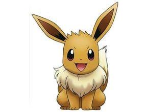 Pokémon - Evoli HD ( Eevee ) - Easy Print