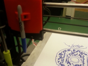 Lulzbot TAZ 5 Sharpie/Pen Toolhead