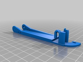 Ender 3 Filament Guide With Cable Chain Support (Remixing x 2)