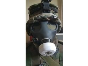 40mm NATO reuseable gas mask filter