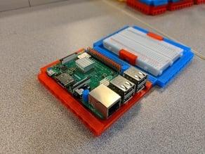 Raspberry Pi 3 B+ Base (LEGO Technic Compatible)