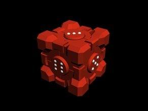 Companion Cube Dice [gnamp]