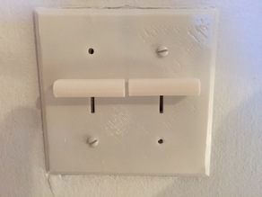 plate & buttons for old dimmers