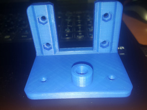 Bowden Bracket for Gregs Wades Extruder