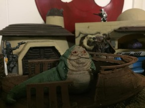 Hutt Spectators (Star Wars Legion scale)
