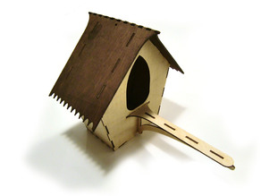 LaserCut - Bird House