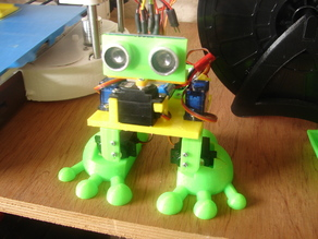 Arduped Robot Base Remix