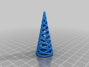 Minimalystic christmas tree