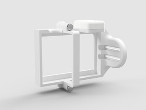Gimbal enclosure for GoPro style action cameras