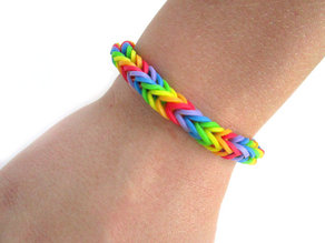 Loom for Rainbow Rubber Bands
