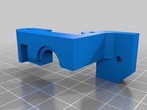RigidBot Dual Extruder Plate & Mount (no X loss) V2