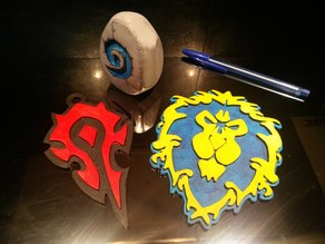 Alliance and Horde Logos