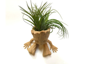 Baby Groot Air Plant Planter