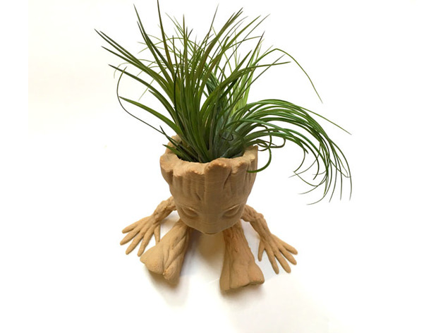 Baby Groot Air Plant Planter By Juliatruchsess Thingiverse