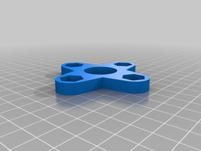 My Customized Fidget Spinner - 608 bearings with 4 M8 nuts