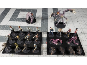 Resident Evil Board Game Miniature Trays