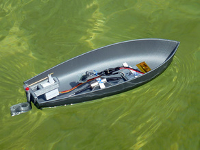 Motor Boat RC small (experimental)