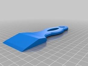 SCRAPER for 3D BED