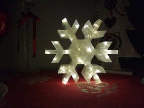 Snowflake LED lamp