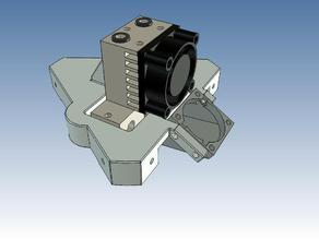 Effector for the E3D Chimera and Cyclops hotends (Updated)