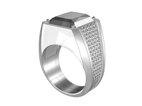 Men's Ring with pattern 01