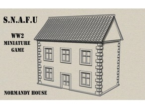 Normandy House - S.N.A.F.U WW2 Wargame System
