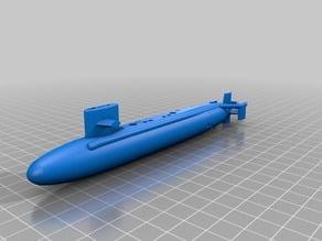 Sturgeon Class Submarine (Simplified)