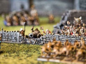28mm or 15mm Wargame Wall