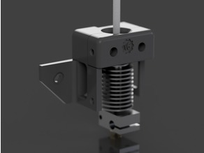 CR-10 E3D v6 Mount with ABL & 40mm Stock Fan Mounting Options