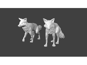 Foxmen: War Fox Miniatures