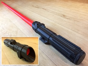 Collapsing Sith Lightsaber (Removable Blade)