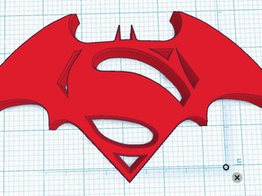 Batman V Superman Symbol