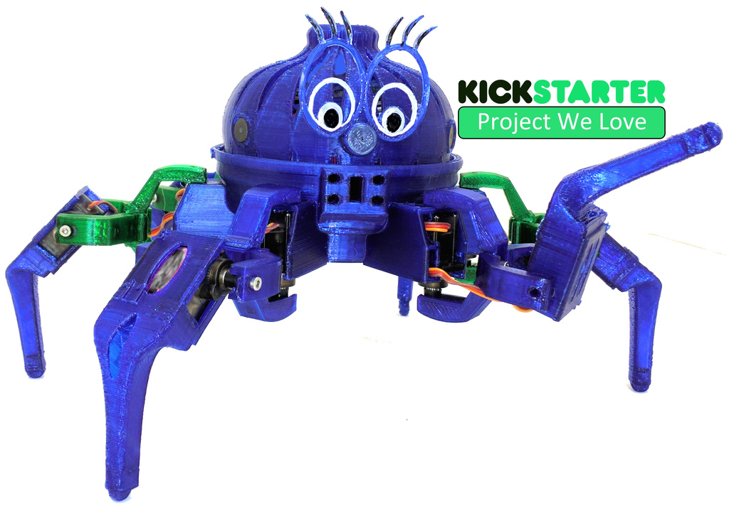 Vorpal The Hexapod by vorpal - Thingiverse