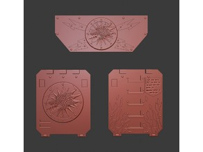 Salamanders Rhino Door and Frontal Ornaments