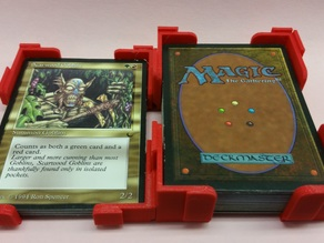 MTG interlocking Card Holder Test