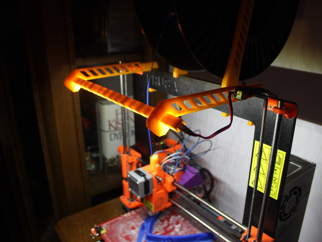 Original Prusa i3 LED frame setup by CassG - Thingiverse