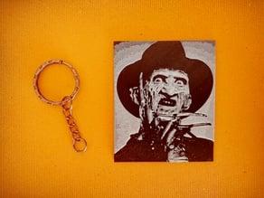 Freddy Krueger keychain