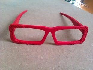 Chequered sunglasses