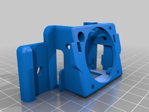 Bullseye Base For Ender 3 Without Cable guide