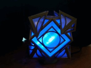 Holocron light pedestal and Base