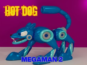 HOT DOG from MEGAMAN 2