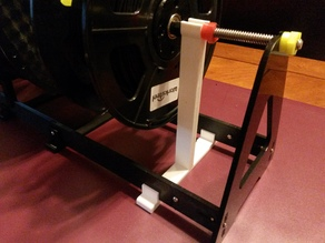 Rod Support for the Spool Holder