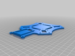 Crossfire Top-Plate for KK2.0 (orhogonally mounted board)