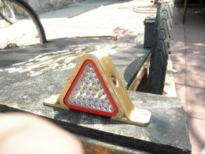 Triangle Work Light Holder