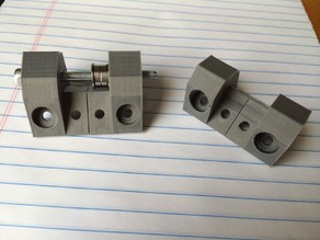 Core XY Idler & Motor Brackets for 2020